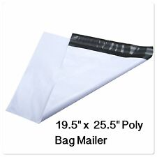 "24 LARGE POLY BAG 19.5'' x 25.5"" POSTAL MAILING ENVELOPES SELF-SEALING MAILER"