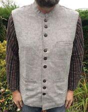 Cotton Casual Regular Size Waistcoats for Men
