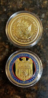 NCIS Special Agent Badge Coin 2 sided coin
