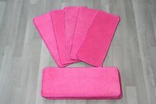 14 glitter sparkle pink bright stair pads 14 Large Pads!