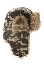 25b228399 Polyester Camouflage Men's Trapper Hat for sale | eBay