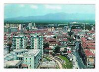 aversa panorama con stazione ferrovia piedimonte alifana anni 60