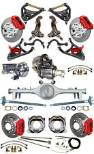 NEW SUSPENSION & WILWOOD BRAKE SET W/ SPINDLES,ARMS,CURRIE REAR END,POSI,687262