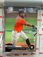 2020 TOPPS NOW ALDS CARD HOUSTON ASTROS CARLOS CORREA #364 2+ MULTI-HR PS GAMES