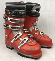 Garmont Adrenalin Mens 25.5 (US 7.5) Red Downhill Ski Boots 297mm Sole Length