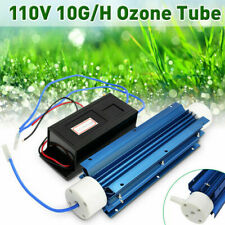 110V 10G Water Disinfection Treatment Suite Ozone Generator Quartz Tube Air