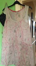 A5 White Stuff Top/Dress Size 8 Birds And Trees