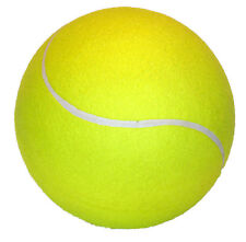 Balle de tennis géante 21 cm ballon de foot, plage, football pas cher Neuf