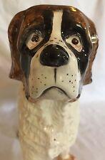Porcelain St. Bernard Dog Figurine