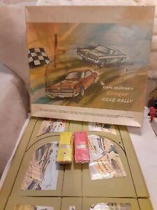 DAN GURNEY Couger 1968 Road Rally Slot Car Set