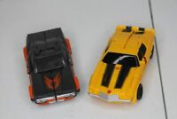 Lot 2 Transformers Bumblebee Energon Igniters Power Series Hot Rod and Bumblebee
