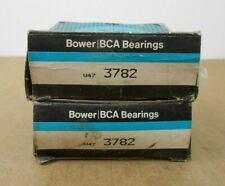 "Lot Of 2 Federal Mogul Bower 3782 Tapered Roller Bearing Cone 1.75"" X 1.1930"""