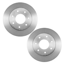 For Ford Lincoln Pair Set of 2 Front Coated & Vented Disc Brake Rotors 320 mm