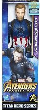 Avengers: Infinity War Titan Hero Series Captain America Action Figure [2018]