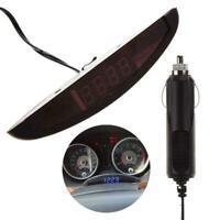 Digital LED Alarm Auto Elektronische Uhr Auto Voltmeter Thermometer New Kal S7F6