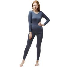 TSLA Tesla Blank WHS200 Women's Microfiber Fleece Lined Top and Bottom Set