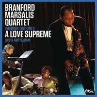 BRANFORD MARSALIS QUARTET-COLTRANE'S A LOVE SUPREME LIVE IN AMSTERDAM 2 CD NEU