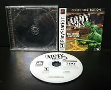 Army Men 3D -- Collectors' Edition (Sony PlayStation 1, 2002) PS1 Complete