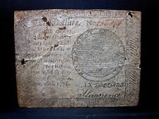 Colonial Currency ✪ Continental September 26Th 1778 ✪ Fr Cc-86 $60 ◢Trusted◣