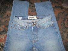 TOPMAN Men's Moto Skinny Button-Fly Jeans 28 Short