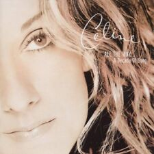 Celine Dion All the Way A Decade of Song 1999 Pop Music Greatest Hits Album New