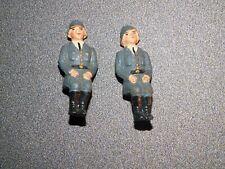 Elastolin Lineol Soldaten 2x Fahrer fürs Auto Selten!