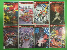 Revolution #1 2 3  Transformers M.A.S.K. Micronauts Rom Run Lot 8 Comics - IDW