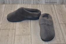 **Isotoner Hoodback Slippers - Women's Size 7.5/8 - Grey (DAMAGED)