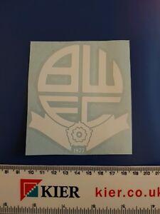 Bolton wanderers fc vinyl sticker