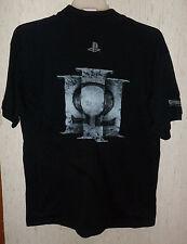 NWT MENS NOVELTY Playstation GOD OF WAR BLACK POLO SHIRT  SIZE L