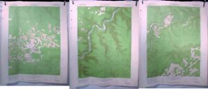 1960 US Army Corps Geological Survey Topographic Map Snow Shoe Quadrangle PA