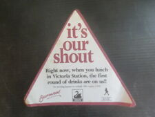 """1 only SWAN Brewery ,"""" BURSWOOD CASINO """" 1991  Issue  BEER Coaster"""