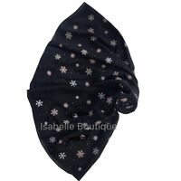 Christmas Gift Snow Flake Large Scarf For Ladies New Head Scarves for Womens