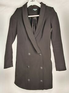Kookai Size 36 Womens Jacket Black Made In FIJI