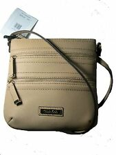 NWT CALVIN KLEIN CK Women's Crossbody Messenger Shoulder Bag Leather Purse $118