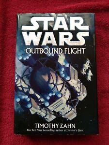Star Wars OUTBOUND FLIGHT Timothy Zahn Hardcover Book 1st Ed 1st Print