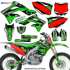 2009 2010 2011 KXF 450 GRAPHICS KIT KAWASAKI KX450F KX F 450F DECO DECAL STICKER