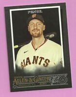 2020 Topps Allen & Ginter X Hunter Pence #171 San Francisco Giants