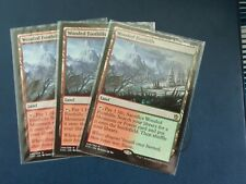 MTG 3x Wooded Foothills -Mint Khans of Tarkir