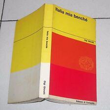Gigi Ghirotti ITALIA MIA BENCHE' - Ed di Comunità 1 ed 1963