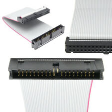 40Pin 13cm Flat Ribbon Male to Female PATA Hard Drive IDE Data Extension CableZQ