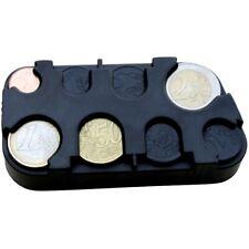 Euro-Münzsammler Münzbox Münzen-Sammler Kleingeldspender mit Schnell-Fixierung