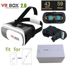 VR 3D Headset BOX Virtual Reality Glasses 2.0 for Iphone 5 6s Plus Samsung