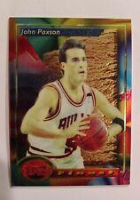 1994 Topps Finest John Paxson Refractor Bulls Michael Jordan 3x Champ. Teammate