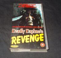 DEADLY DAPHNE'S REVENGE VHS PAL TROMA UK RELEASE