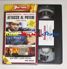 film VHS ATTACCO AL POTERE D. Washington   CARTONATA PANORAMA (FP1 * )  no dvd