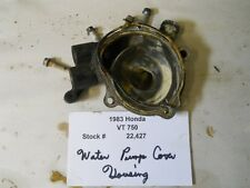 1983 Honda Shadow VT 750 Water Pump Cover Housing