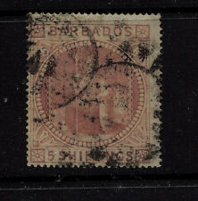 Barbados  43  used    catalog  $375.00   RL0329
