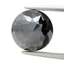 Grand Véritable Déguisement Naturel Diamant 2.85Ct Nickel Gris Sparkling Tambuli