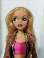 Mattel My Scene Doll Barbie Madison Blond Straight Long Hair Cloth Boots Girl 3+